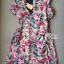 Lady Ribbon's Made Lady Rosie Sweet Flowery Chiffon Mini Dress thumbnail 5
