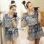 Lady Ribbon's Made Lady Amy Sweet Chic Laser-Cut Cotton Dress thumbnail 4