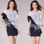Lady Ribbon's Made Lady Eve Smart Minimal Chic Mini Dress thumbnail 8