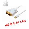 macbook mini displayport to dvi cable 1.5m