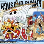 ONE PIECE GRAND SHIP COLLECTION THOUSAND. SUNNY MEMORIAL COLOR Ver.