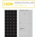 แผงโซล่าเซลล์ Solar Cell 150W Mono
