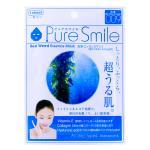 Pure Smile Sea Weed Essnce Mask (1sheet) 23ml. มาส์กบำรุงผิวหน้า สารสกัดจากสาหร่ายเพื่อผิวแข็งแรง สุขภาพดี