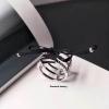 พร้อมส่ง Hefang Bangle Jewelry แหวนและต่างหูเพชรแบรน