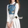 เสื้อผ้าเกาหลี พร้อมส่งNifty Butterfly Shirt Dress