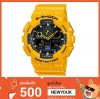 GShock G-Shockของแท้ ประกันศูนย์ GA-100A-9A จีช็อค นาฬิกา ราคาถูก ราคาไม่เกิน สี่พัน