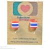 ต่างหูพลาสติก,ต่างหูก้านพลาสติก,ต่างหูเด็ก E29025 We love Thailand ต่างหู ราคาถูก