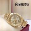 Michael kors สีทอง หน้าปัด 38 mm.วงเล็กหน้าปัดหลอก ราคา 890 บาท