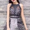 ชุดเดรสเกาหลี พร้อมส่ง Dressi Collection ชุดนี้ไม่ต้องบรรยายถึงความหรูหรา ลายทูโทน