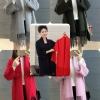 เสื้อผ้าแฟชั่นเกาหลีพร้อมส่ง เสื้อคลุมไหมพรมKorea