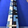 กล่องหนัง ไม้คิวท่อนเดียว 2ช่อง ตัวล็อก5ชั้น