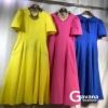 Maxi dress สไตล์korea ดีไซน์เรียบหรู