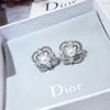 พร้อมส่ง diamond earring ต่างหูเพชรติดหูประดับมุก