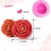 พิมพ์ยางซิลิโคน 3D ลาย ดอกไม้