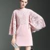 ชุดเดรสเกาหลี พร้อมส่งPinky Lace Most Wanted Dress