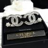 พร้อมส่ง Chanel Earring ต่างหูชาแนล งานเพชร CZ แท้
