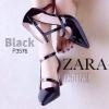 รองเท้าคัดชู ส้นสูง สไตล์ ZARA งานเรียบหรู ขายดีมากี่รอบไม่เคยพอ