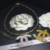 พร้อมส่ง โช็ค+จี้/เข็มกลัด Chanel เพชรสวิสแน่นๆ แท้ๆ