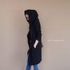 เสื้อผ้าอฟชั่นเกาหลีพร้อมส่ง Knit hoody cardigan