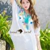 เสื้อผ้าเกาหลี พร้อมส่งสวยหวานลุคสาวโบฮีเมียนด้วยเสื้อทรงสบายๆ