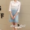 เสื้อผ้าเกาหลี พร้อมส่งสวยเก๋ลุคสาวหวานแบบสมาร์ทด้วยทรงเดรสเชิ้ต