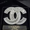 พร้อมส่ง เข็มกลัด/จี้ แบรนด์ Chanel เพชรเกรด 6A