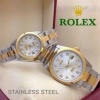 Rolex datejust สายเต้าหู้ มาแพคคู่ งานสแตนเลสแท้ Auto หน้าปัด 27 mm.และ 38 mm. เรือนละ 1690 บาท