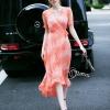ชุดเดรสเกาหลี พร้อมส่งV Cross Luxury Long Dress