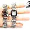 นาฬิกา Chanel เพชรในน่าปัด สายเป็นกิ๊บล็อคนะค่ะ ขนาด 20 mm นะค่ะ