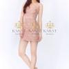 ชุดเดรสเกาหลีพร้อมส่ง Dress สายเดี่ยวเว้าอก เสริมบราฟองน้ำ