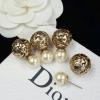 พร้อมส่ง Christian Dior Earring ต่างหูมุก Dior