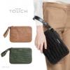 MANGO Leather Wristlet พร้อมส่งสีดำ และ น้ำตาล กระเป๋าคล้องมือหนังพียูลายหนังจระเข้ สวยไฮมว้าก!! Freesize : สูง 17.5cm. ยาว 24cm. ราคา 990฿