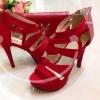 รองเท้าส้นสูง สวย เริ่ด ไฮโซ วัสดุ ผ้านิ่มมากค่ะ