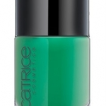 CATRICE ULTIMATE Nail LACQUER #10 l'm nat a greenager 10ml.ยาทาเล็บสีเงา
