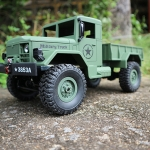 GMC U.S ARMY 4x4 รถบังคับทหารอเมริกัน - HENG LONG 3853A 1:16