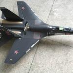SU35 fighter เครื่องบินทำความเร็วสูง 4ช่อง