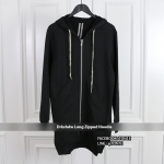 เสื้อฮู้ดRick Owens Long zipped Hoodie