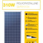 แผงโซล่าเซลล์ Solar Cell 310W Poly