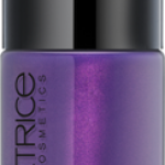 CATRICE ULTIMATE Nail LACQUER #31 Even More Heavy Metallilac 10ml.ยาทาเล็บสีเงา