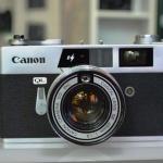 CANON CANONET QL19E CANON LENS SE 45MM.F1.9