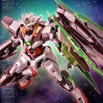 P-Bandai : MG 1/100 OO QAN[T] (TRANS-AM MODE) [SPECIAL COATING]