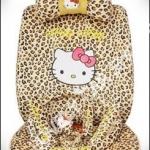 ชุดคลุมเบาะลาย Hello Kitty ลายเสือ น่ารักๆ
