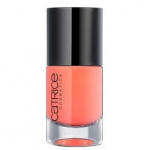 CATRICE ULTIMATE Nail LACQUER #02 pimp my shrimp 10ml.ยาทาเล็บสีเงา