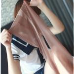 วิธีการสวมถุงน่อง ; เลกกิ้ง