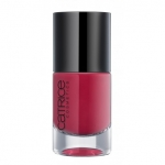 CATRICE ULTIMATE Nail LACQUER #25 Robert's red ford 10ml.ยาทาเล็บสีเงา