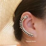 พร้อมส่ง Christian Dior Earring งานอย่างใส่ออกมาน่ารักมากๆ