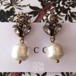 Gucci earrings Flower งาน