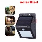 Solar motion sensor light ไฟติดผนังโซล่าเซลล์พลังงานแสงอาทิตย์ 30 led