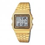 นาฬิกาข้อมือผู้หญิงCasioของแท้ A500WGA-9DF