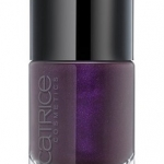 CATRICE ULTIMATE Nail LACQUER #32 The Dark Knight 10ml.ยาทาเล็บสีเงา